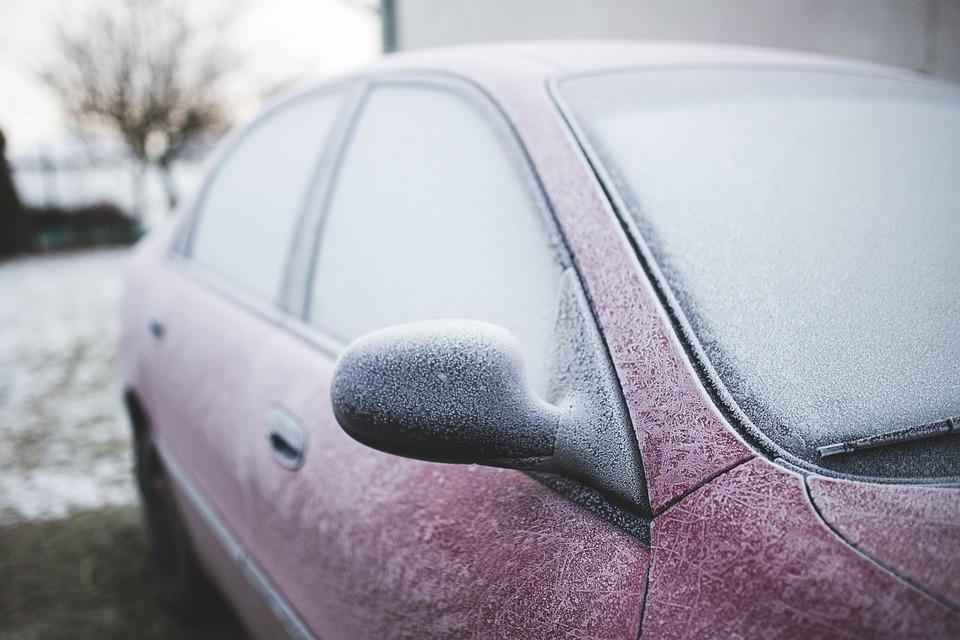Car, Froze, Frozen, Frozed, Winter, Cold, Snow