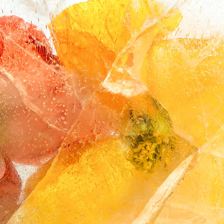 Flowers, Frozen Flowers, Petals, Freshness, Delicate