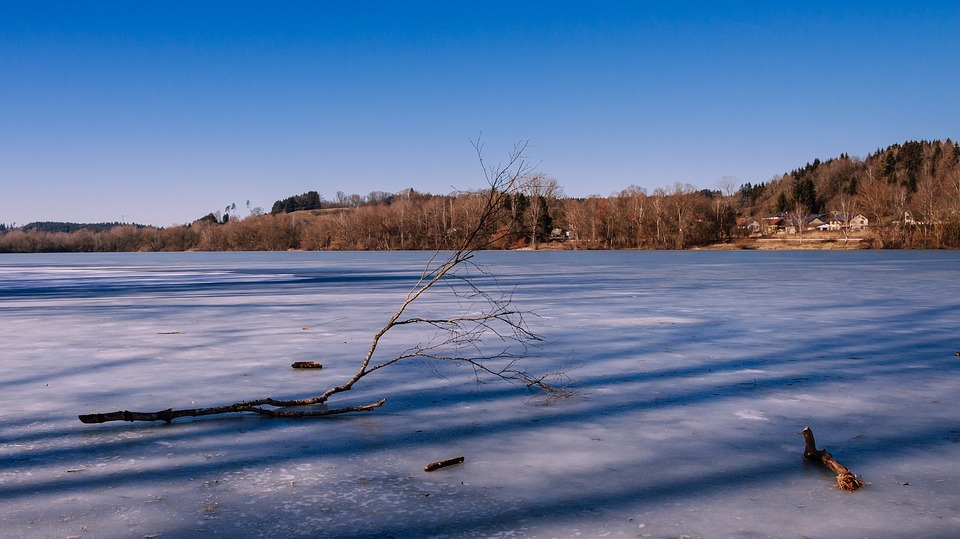 Frozen Lake, Destination Finger Lake, Cold, Icy, Frost