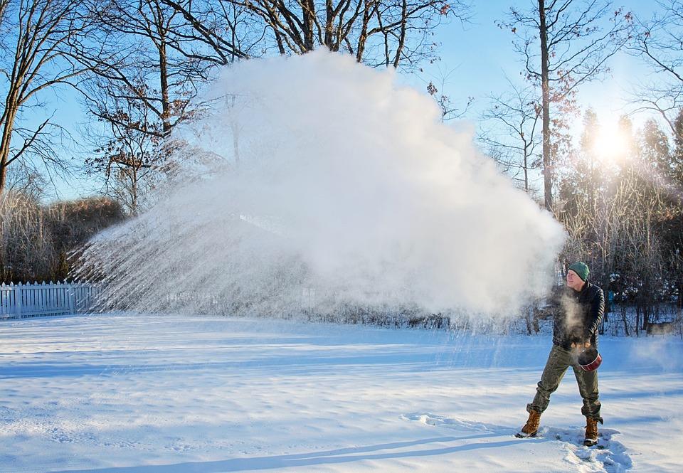 Mpemba Effect, Winter, Snow, Cold, Frost, Frozen