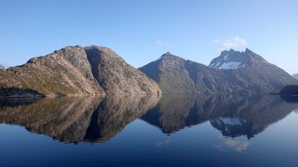 Iceberg, Ice, Prins Christianssund, Frozen, Cold, Sea