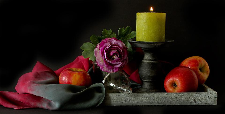 Still Life, Apple, Autumn, Fruit