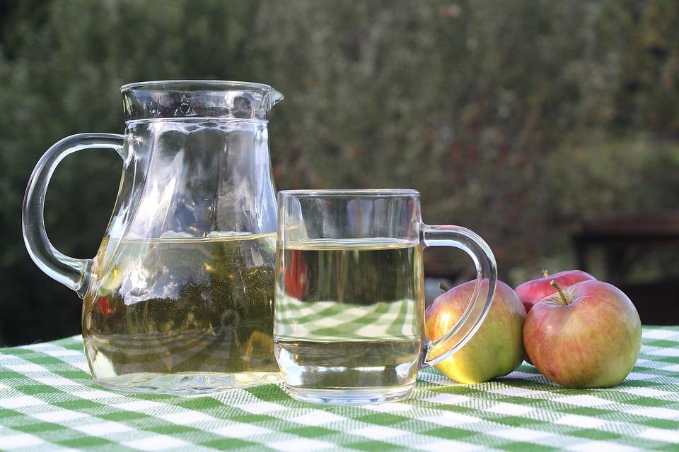 Apple, Drink, Fruit, Glass, Food, Apple Cider
