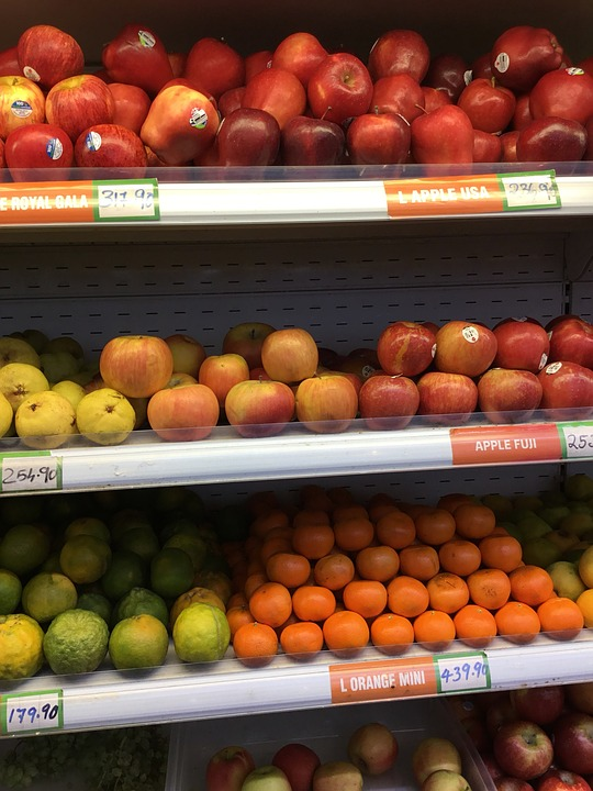 Fruit, Food, Market, Healthy, Grow, Apple, Supermarket
