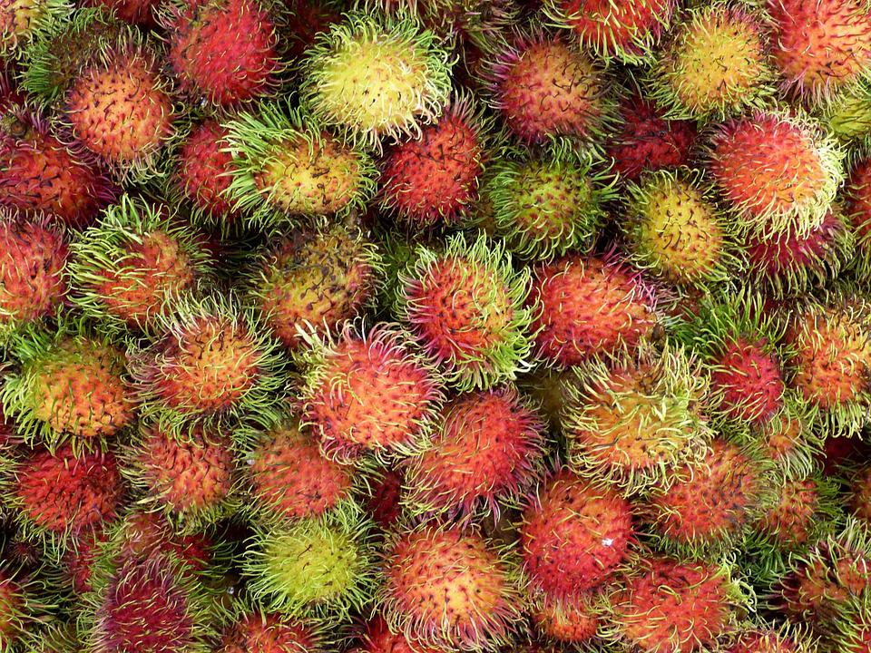 Vietnam, Asia, Tropical, Fruit, Market, Healthy