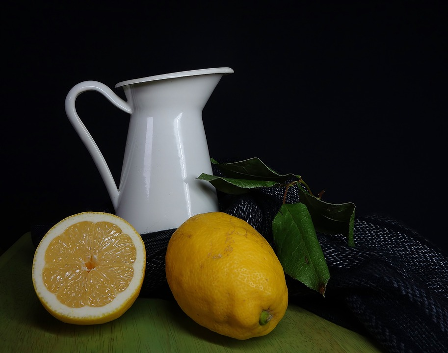 Lemon, Fruit, Food, Juice, Background, Still Life