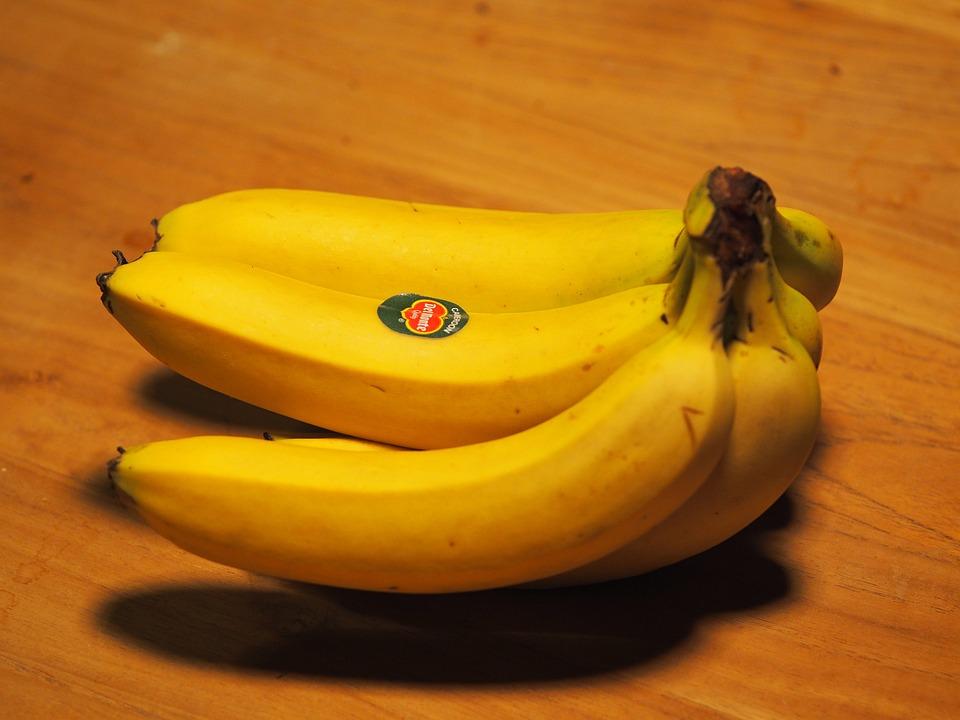 Banana, Fruit, Yellow, Power, Market, Vegetables