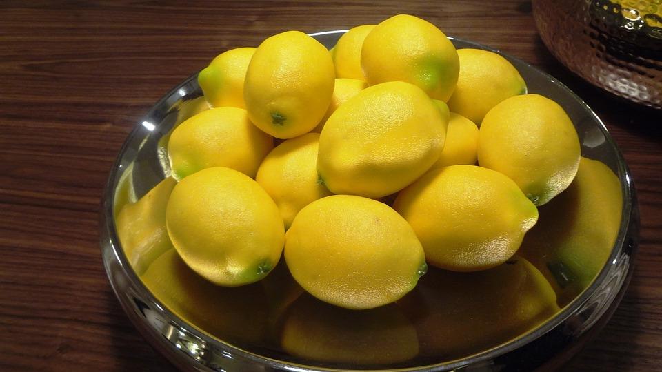 Lemons, Fruit Basket, Fruit Bowl