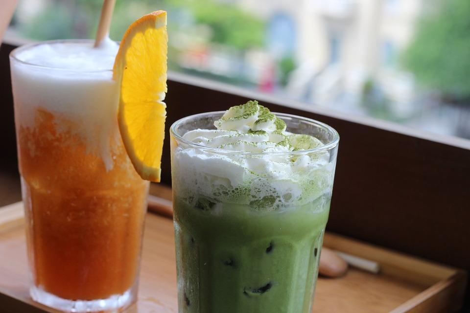 Drink, Beverage, Glass, Ice, Fruit, Fresh, Juice