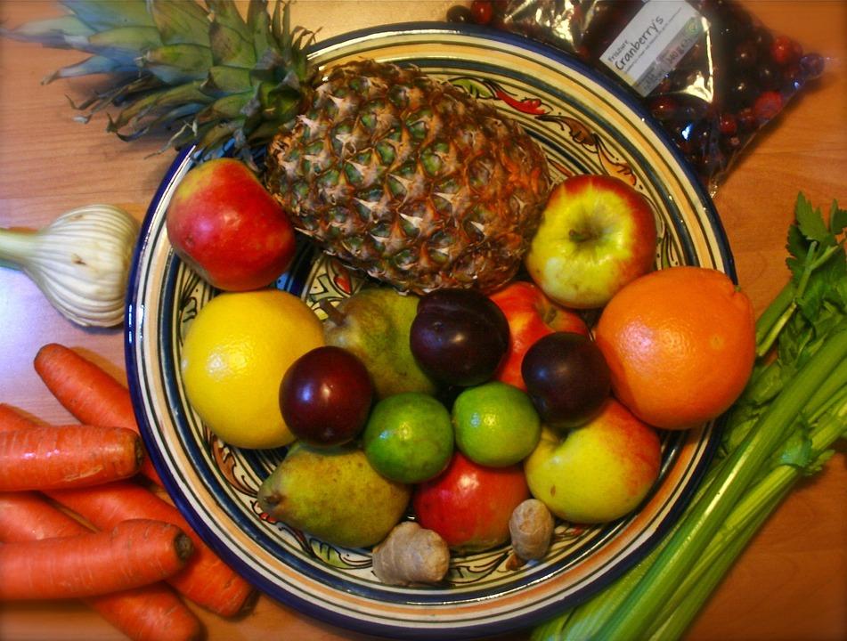 Fruit, Vegetable, Fruit Bowl, Types, Colors