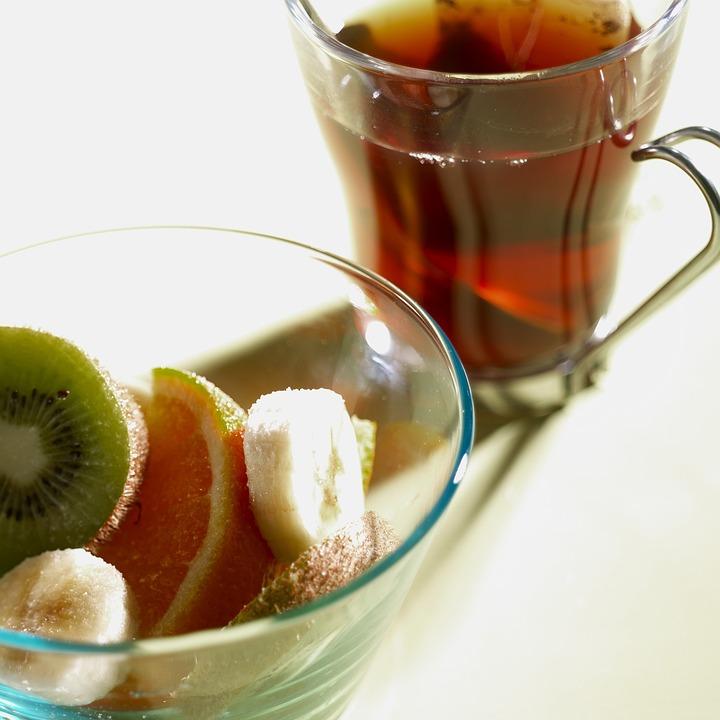Breakfast, Tea, Fruit