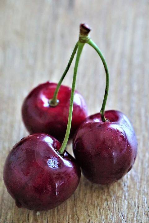 Cherries, Fruit, Healthy, Fresh, Vitamins, Sweet