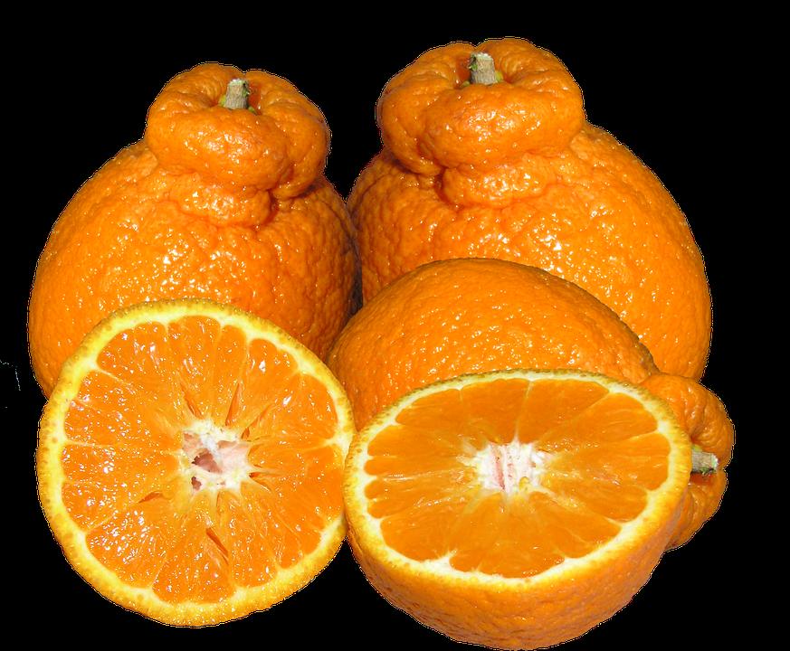 Mandarins, Citrus, Fruit