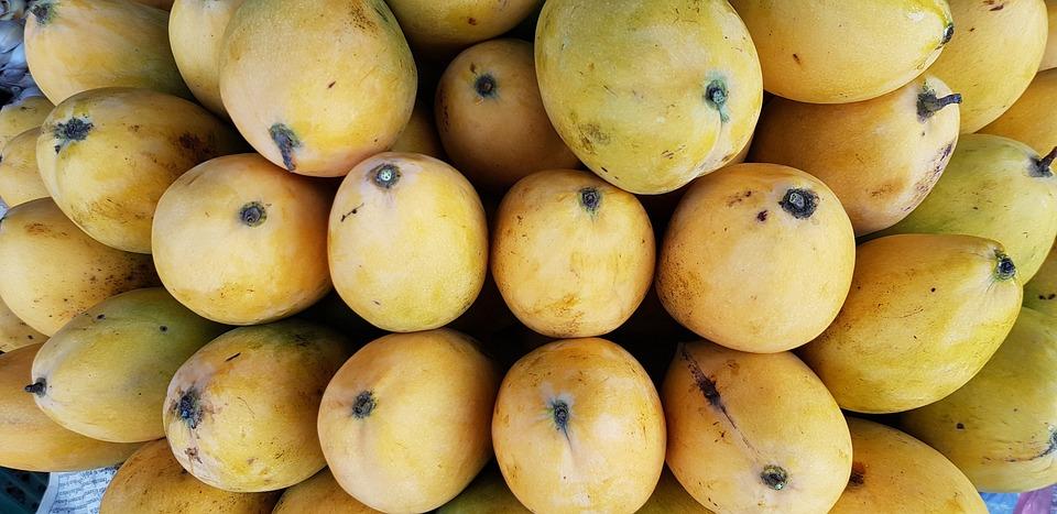 Ripe, Sweet, Mango, Desert, Food, Fruit, Health