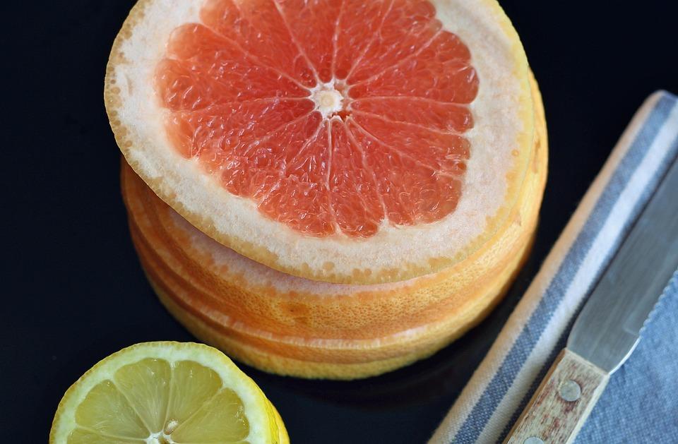 Grapefruit, Lemon, Fruit, Sweet, Food, Diet, Fresh