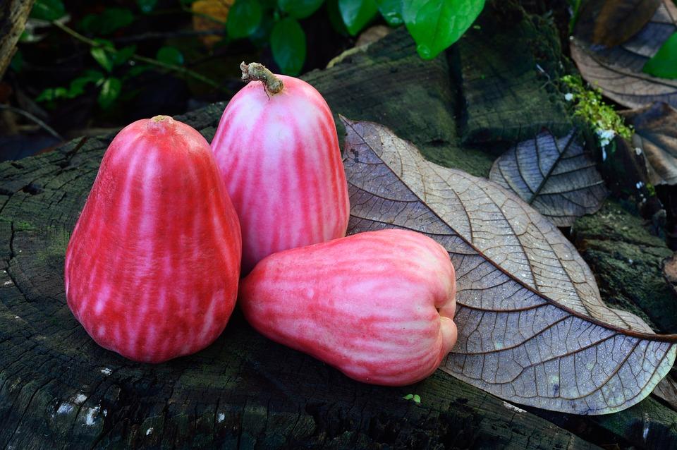 Fruit, Sweet, Red, Pear, Food, Natural, Healthy, Diet