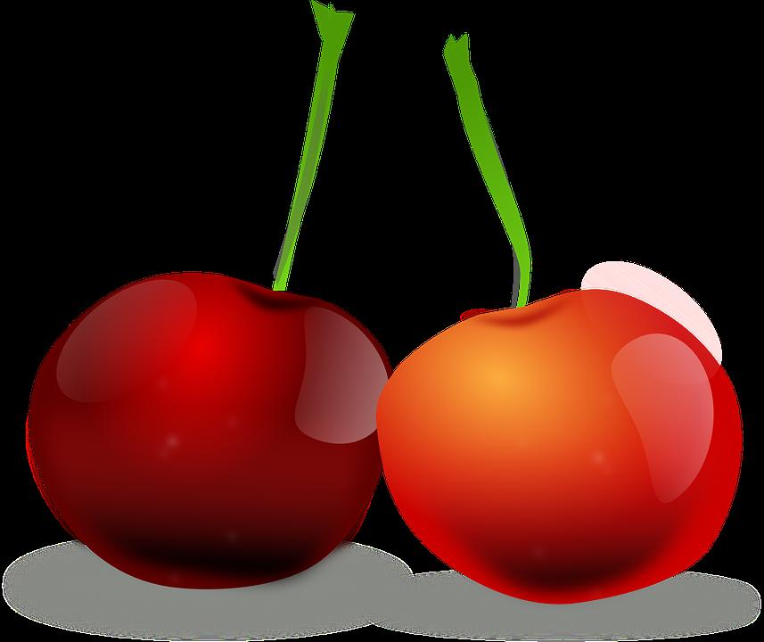 Cherries, Fruit, Natural, Diet, Fresh, Vegetarian