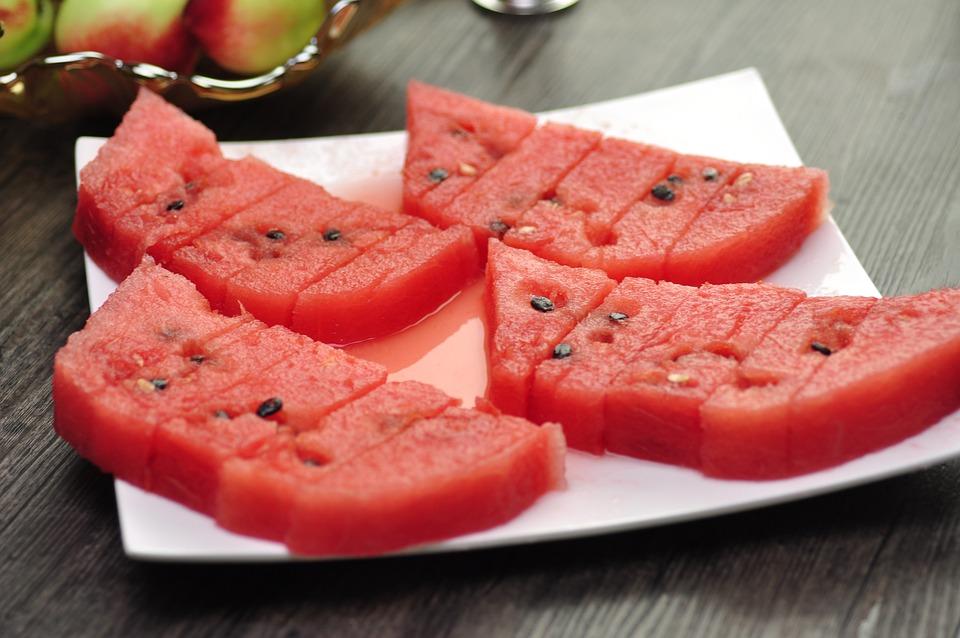 Watermelon, Fruit, Dim Sum