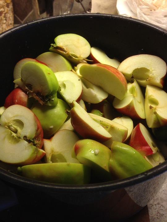 Apple Bits, Fruit, Eplegele