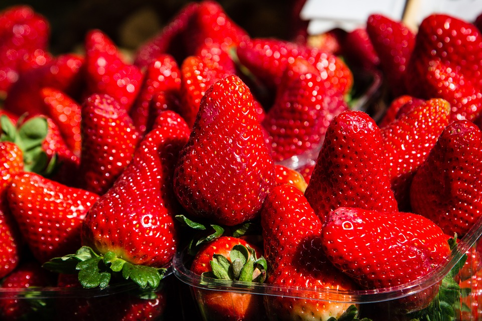 Strawberries, Fruit, Red, Food, Strawberry, Fresh
