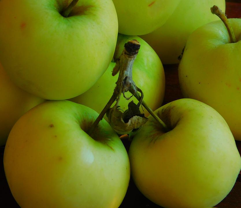 Apple, Fruit, Fruits, Delicious, Green, Vitamins, Ripe
