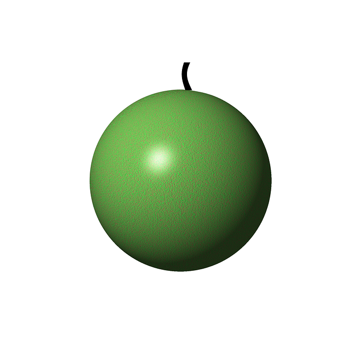 Apple, Fruit, Green, Red