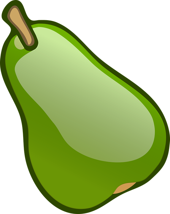 Fruit, Green, Pear, Green Fruits