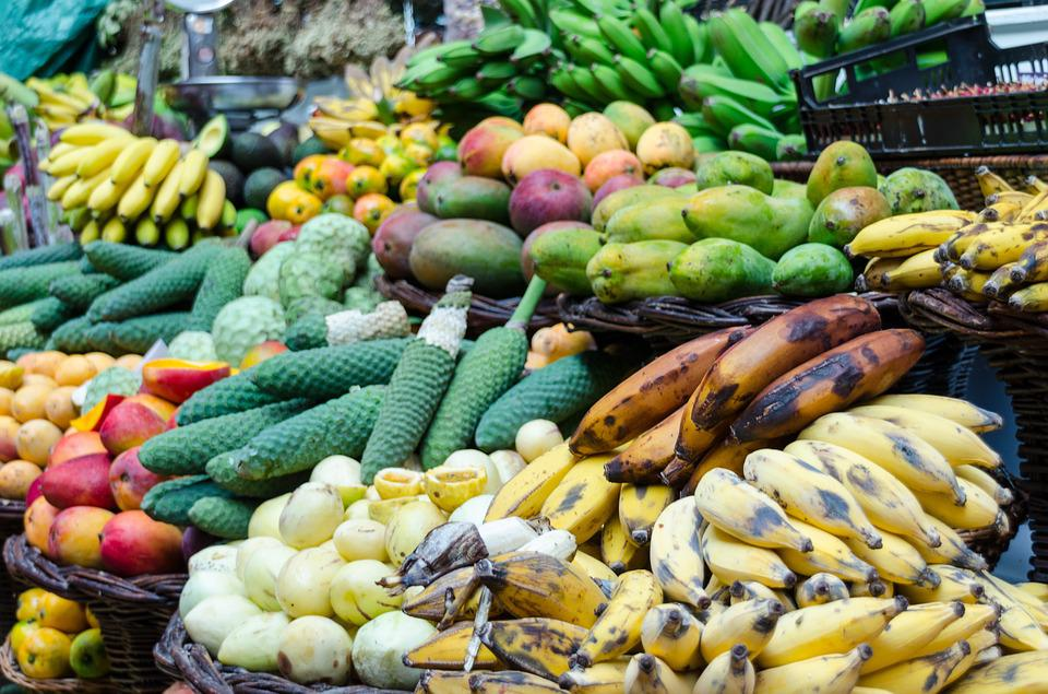 Fruit, Bananas, Passion Fruit, Pomegranate, Grenadine