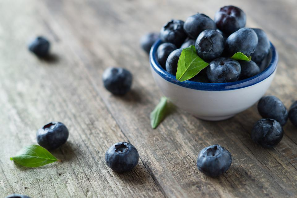 Blueberries, Health, Vitamins, Fruit, Food, Blue