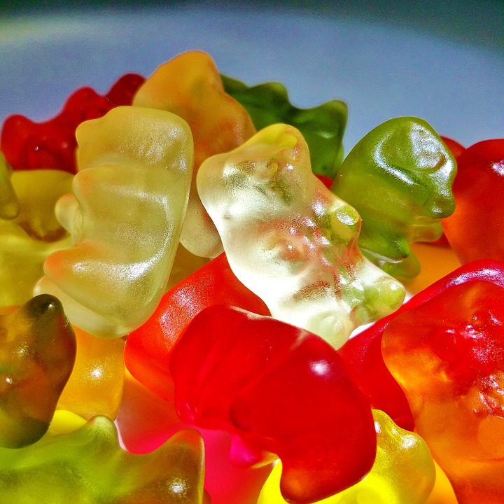 Gummibärchen, Gummi Bears, Bear, Fruit Jelly, Haribo