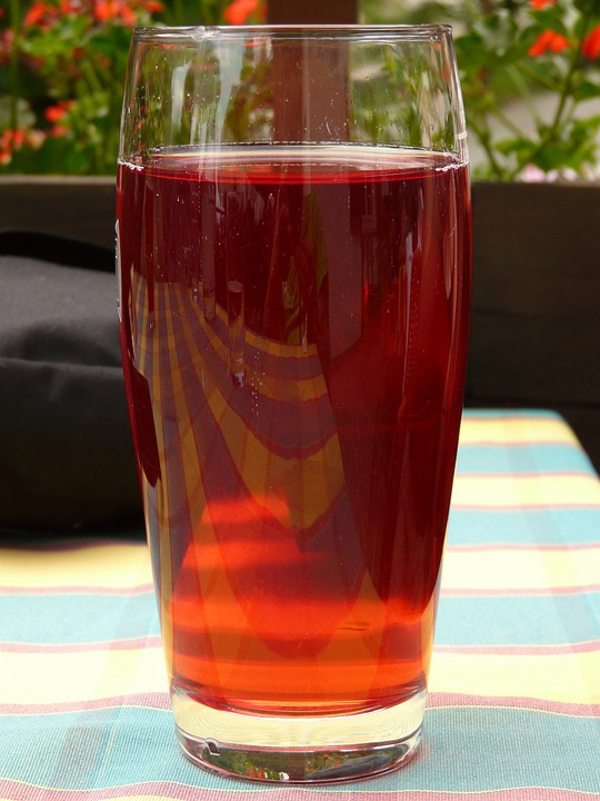 Glass, Drink, Fruit Juice, Thirst, Juice, Red