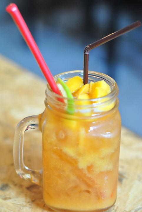 Mango Juice, Fruit Juice, Food