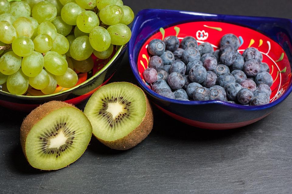 Fruit Kiwi, Healthy, Bowl, Shell, Vitamins, Fruits