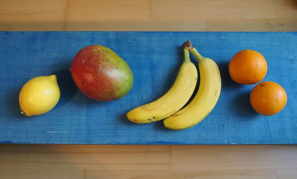 Fruit, Banana, Orange, Lemon, Mango, Fruits