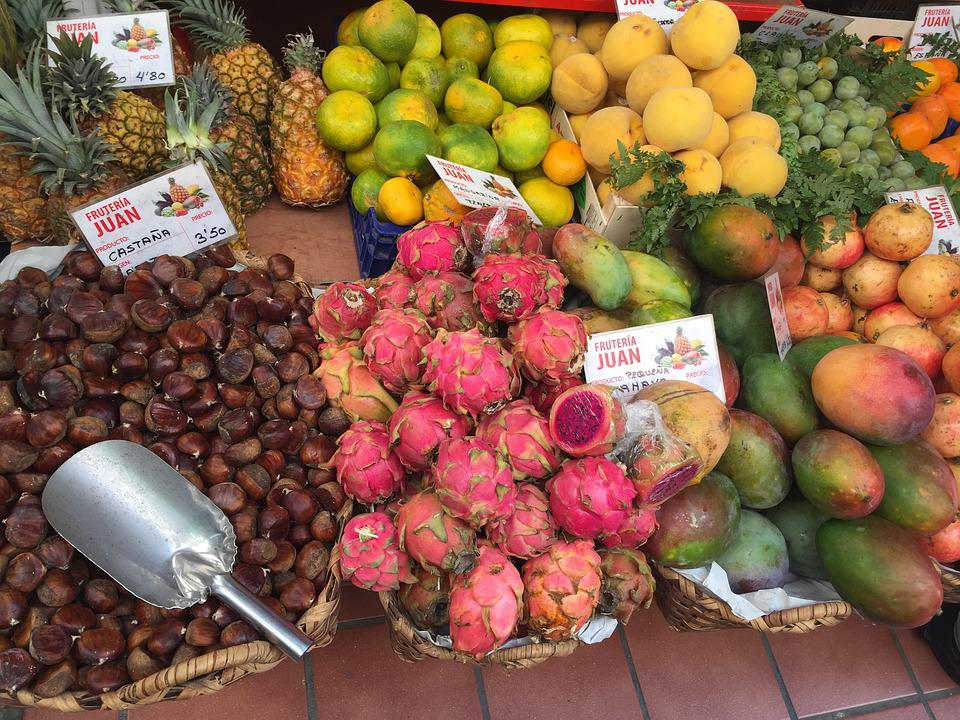 Fruit, Market, Canary Islands