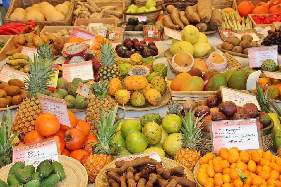 Market, Final Sale, Food, Fruit, Sell, Vegetables