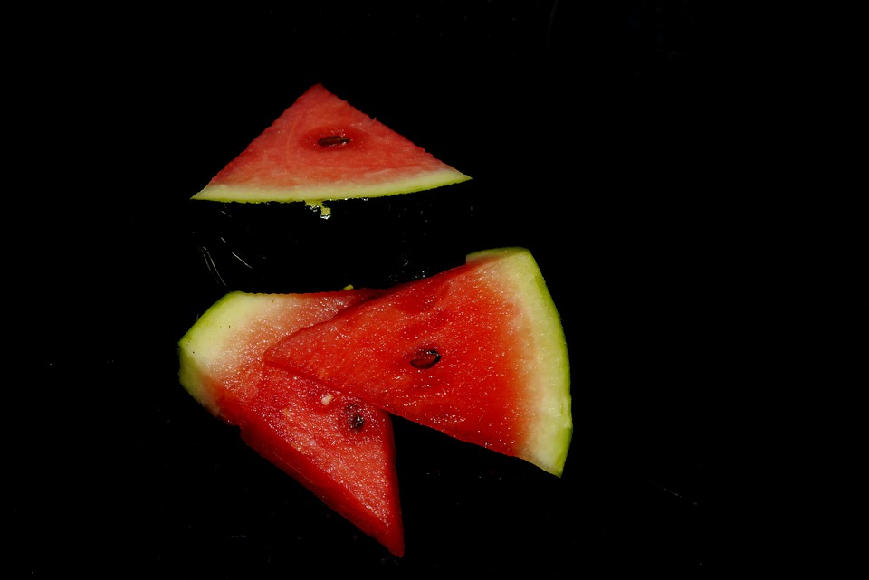 Melon, Watermelon, Red, Green, Nature, Fruit