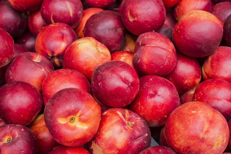 Nectarines, Fruit, Nature, Nutrition, Vitamins