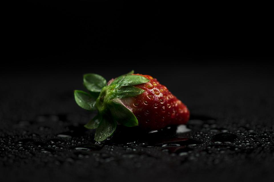 Food, Nature, Leaf, No Person, Darkness, Wet, Fruit