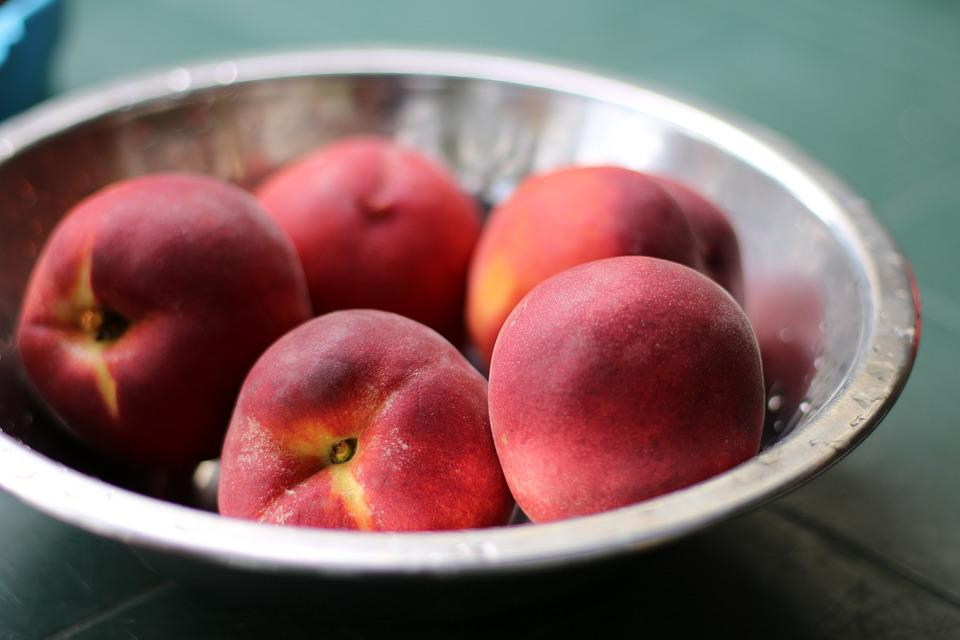 Peach, Fruit, Organic, Food, Healthy, Sweet