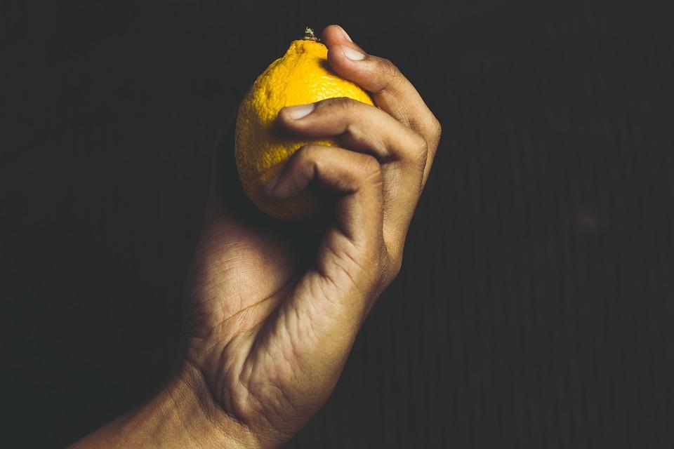 People, Man, Portrait, Fruit, Lemon, Healthy, Detox