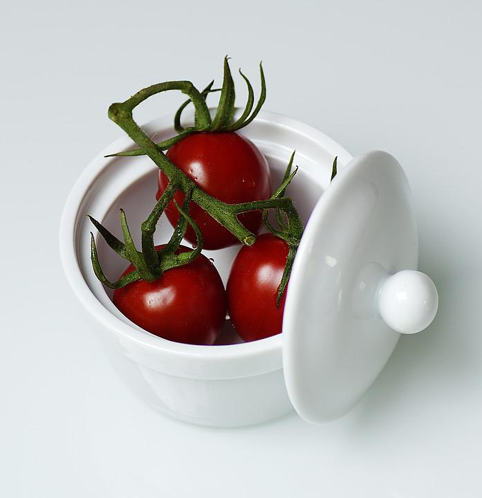 Tomatoes, Fruit, Red, Food