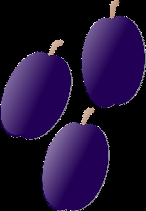 Plum, Purple, Fruit, Fresh, Berry, Juicy, Ripe