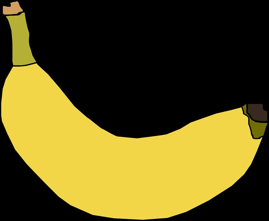 Banana, Yellow, Fruit, Ripe, Sweet