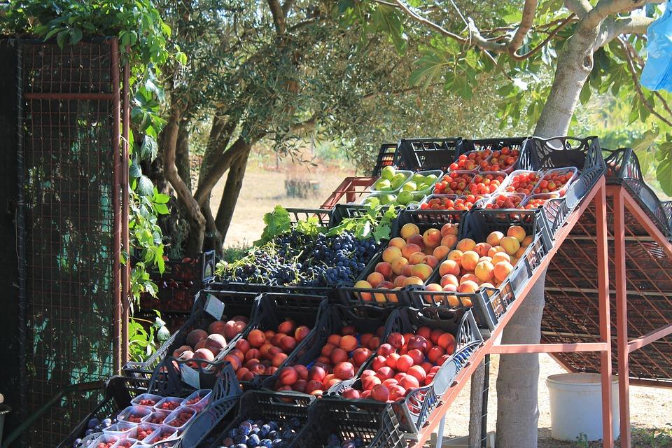 Fruit, Fruit Stand, Market, Fruits, Apricot, Apricots