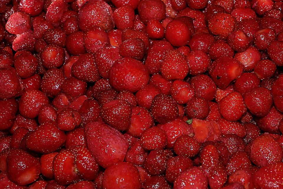 Berry, Strawberry, Fruit, Nutrition, Sweet, Red