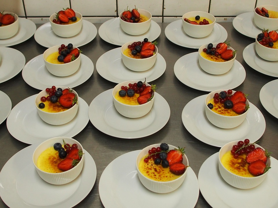 Cream, Brulé, Dessert, Strawberry, Healthy, Fruit