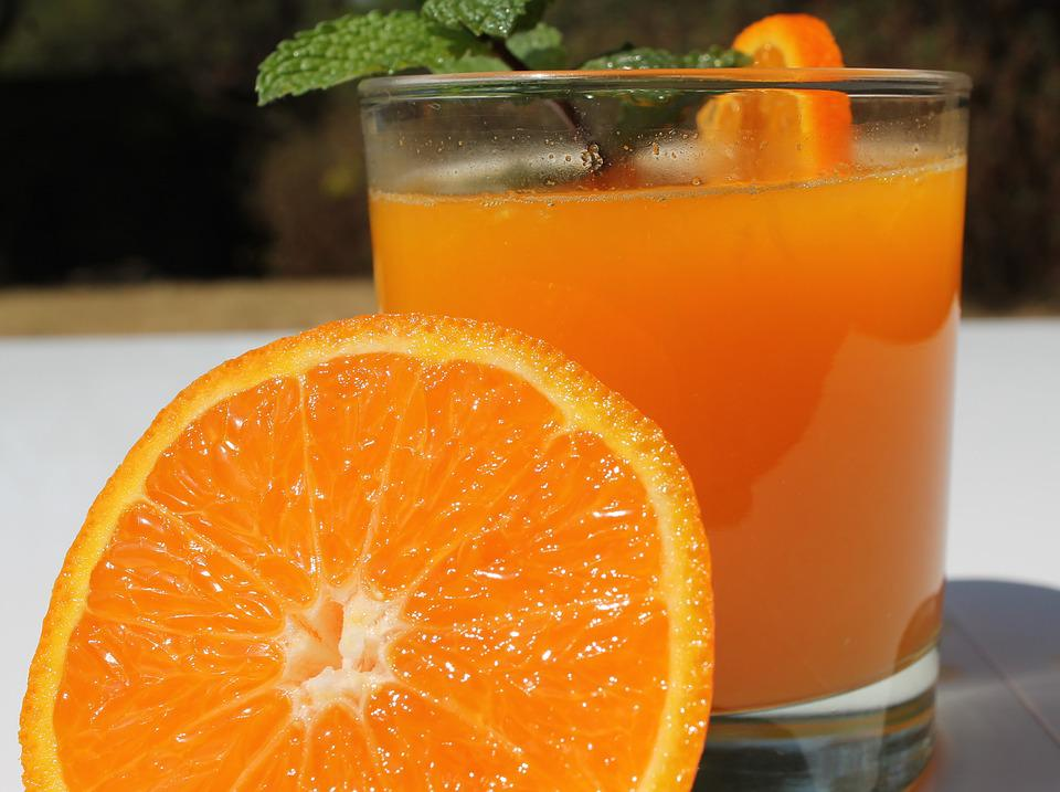 Orange Juice, Vitamin C, Fresh, Glass, Fruit, Sweet