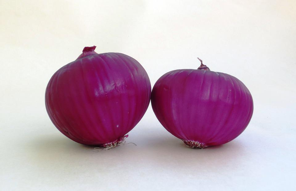 Onion, Fruit Vegetable, Red Onion