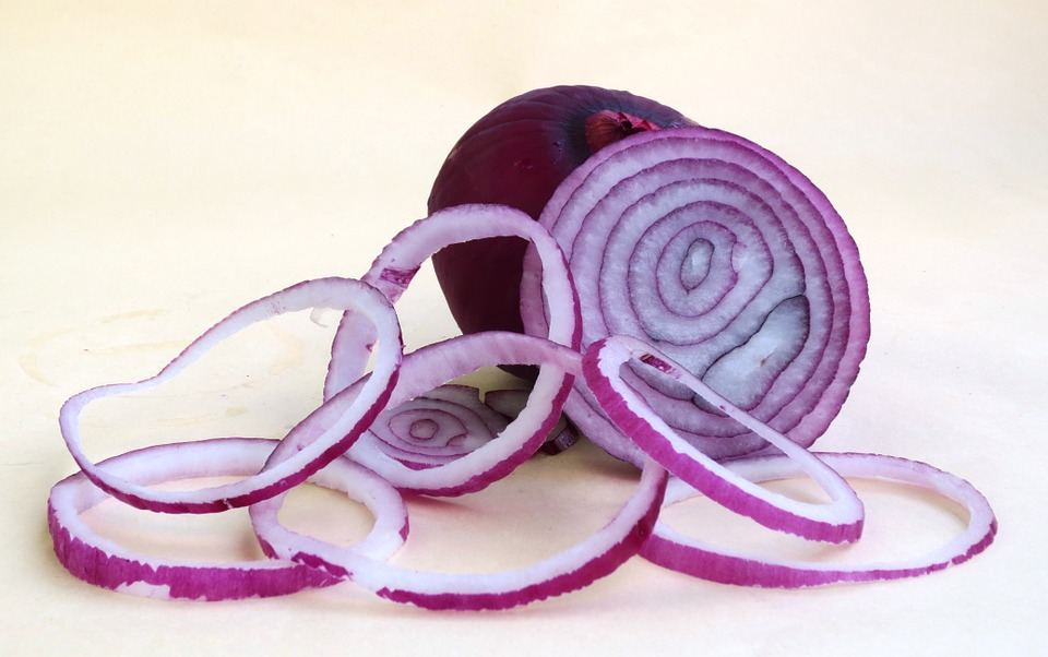 Onion, Red Onion, Fruit Vegetable